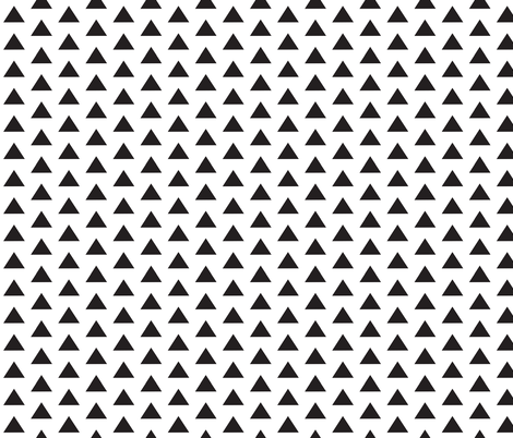 Onyx Triangles fabric by tycdesignco on Spoonflower - custom fabric