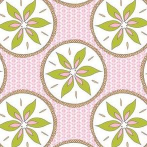 Aunty Bella's Southwest Cactus Pots - Desert  Pink