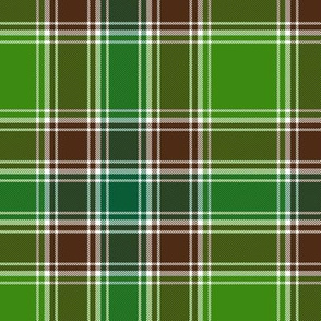 MacDonald hunting tartan, modern colors