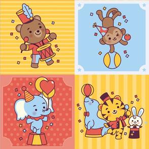 Cute Circus Pattern #1