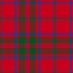 MacDonald red tartan - modern colors