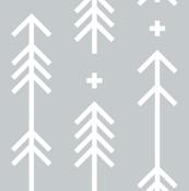 cross plus arrows sterling grey