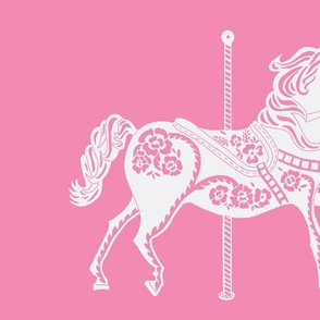 Carousel Horse in Ravishing Rose