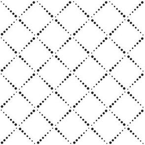 Diagonal dots