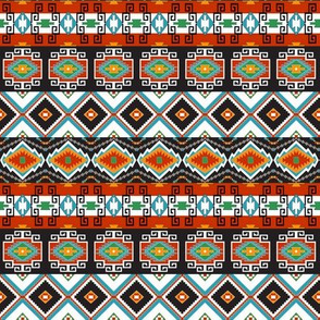 Southwest Tribal Stripes