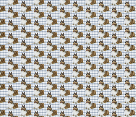 Collie fabric by pateisen on Spoonflower - custom fabric