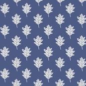 Old Oak - Delft Blue & Pale Grey