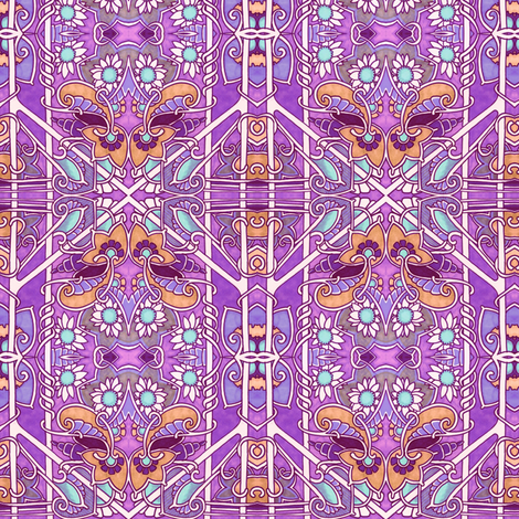 Summer in the Province fabric by edsel2084 on Spoonflower - custom fabric