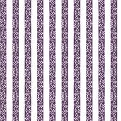 Buzz Stripe - Plum