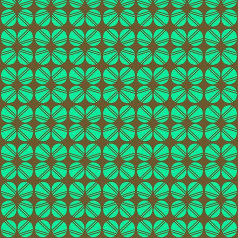 Screw Head Aqua fabric by eve_catt_art on Spoonflower - custom fabric