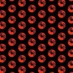 Spider Black Orange