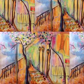 Art decor landscape
