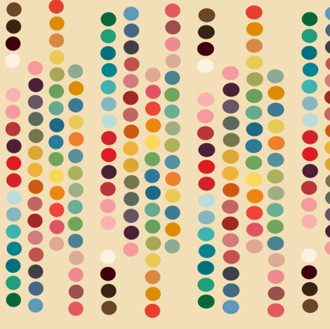 dots fabric by bruxamagica on Spoonflower - custom fabric