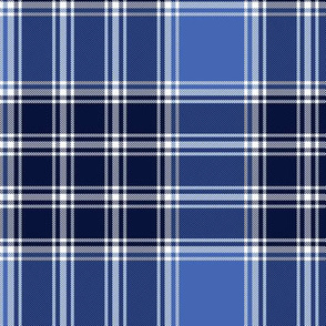 MacDonald Lord of the Isles blue tartan