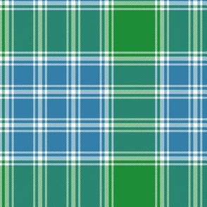 MacDonald Lord of the Isles blue-green tartan