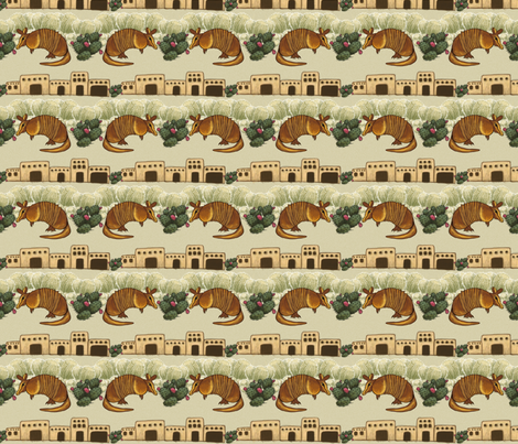 southwestbaby fabric by amyjeanne_wpg on Spoonflower - custom fabric