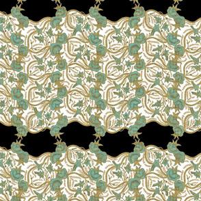 Paisley Lace ~ Verdigris