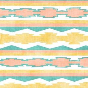Southwestern Geometric Stripe