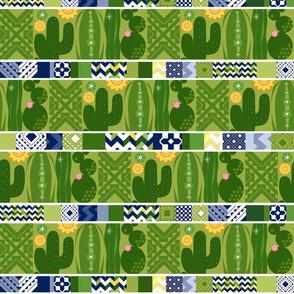 Southwest Cactus Garden_TileStripes_Med