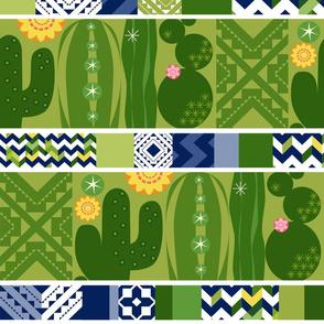 Southwest Cactus Garden_TileStripes_Lg