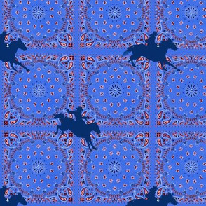 Southwestern Riders - Baby Bedding