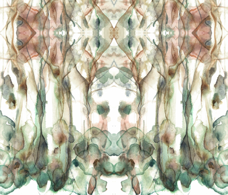 out of the woods fabric by karalynshaw on Spoonflower - custom fabric
