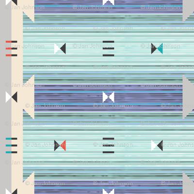 Blanket Stripe, Dusk