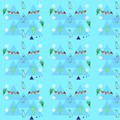 Tepees, mountains, or simply triangles