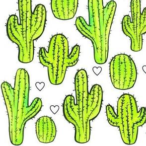 Cactus + Hearts