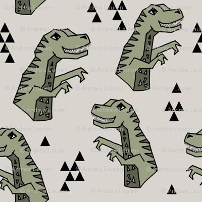 dinosaurs // dino dinosaur trex t-rex kids baby artichoke boys