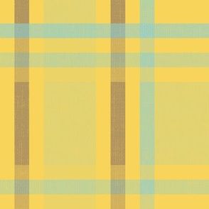 Retro Plaid - Gold