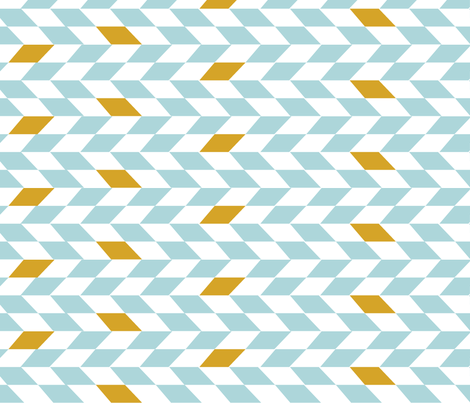 SW Baby Bedding Herringbone fabric by pixabo on Spoonflower - custom fabric