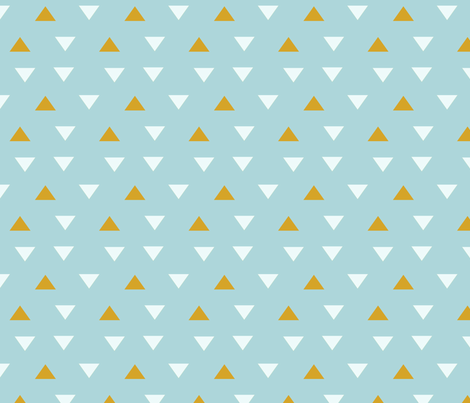 SW Baby Coordinate Triangles fabric by pixabo on Spoonflower - custom fabric