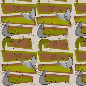 Boomerangs in Green