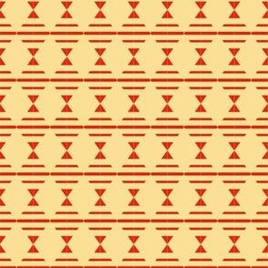 Diamonds Scarlet Tan