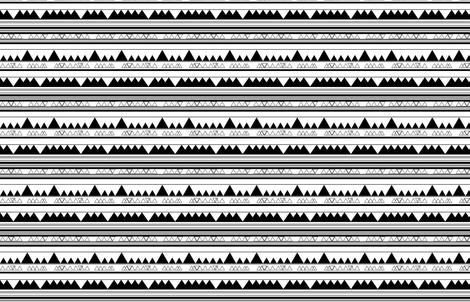 triangle stripes fabric by kyte_designs on Spoonflower - custom fabric