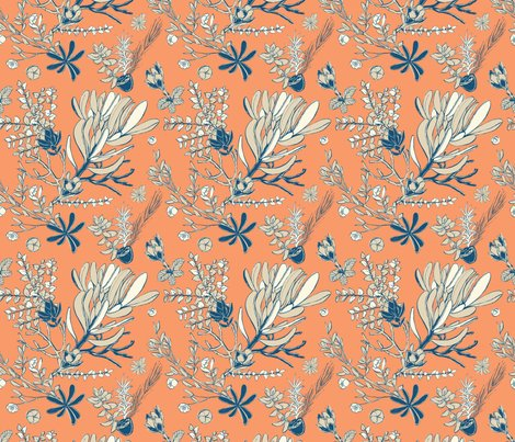 Rfloral_spoonflower_orange_shop_preview