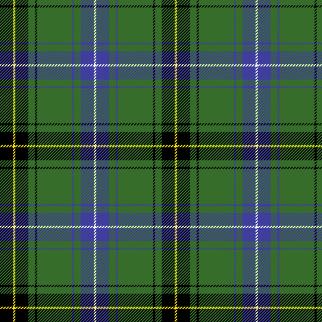 "Henderson or MacKendrick tartan, 4"" modern fabric by weavingmajor on Spoonflower - custom fabric"
