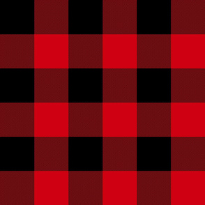 "Rob Roy MacGregor Tartan / Buffalo Plaid - 3"" check"