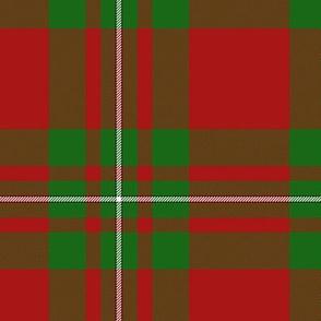 MacGregor / MacAulay tartan - modern colors