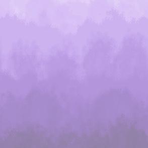 Gray to Purple Ombre Drapery