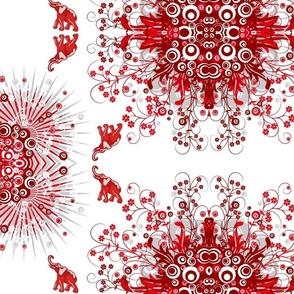 Elephant Red Flowergazer