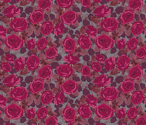 rose 7 fabric by kociara on Spoonflower - custom fabric