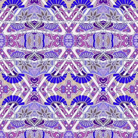 Star Sprinkled Garden fabric by edsel2084 on Spoonflower - custom fabric