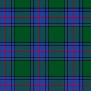 1/2 scale Shaw tartan