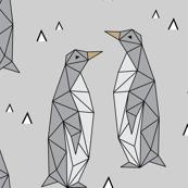 Geometric Penguins Gray