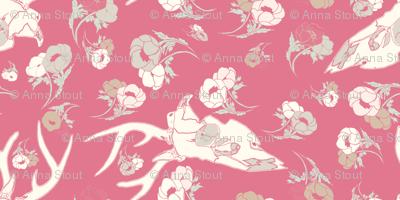 pinkdeerspoonflower