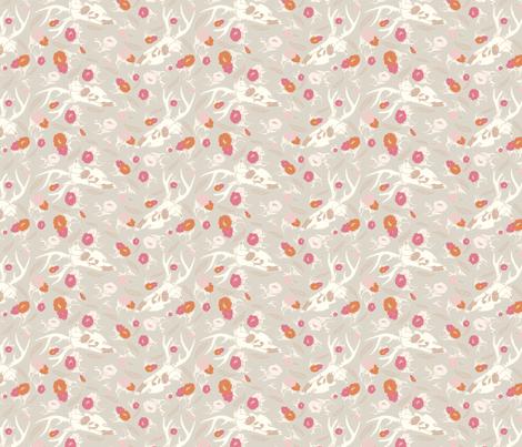 neutraldeerspoonflower fabric by b__woolf on Spoonflower - custom fabric