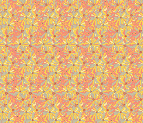 desert_spring_flower_original_ fabric by megancarroll on Spoonflower - custom fabric