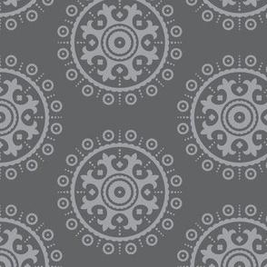 mod baby » suzani grey on grey